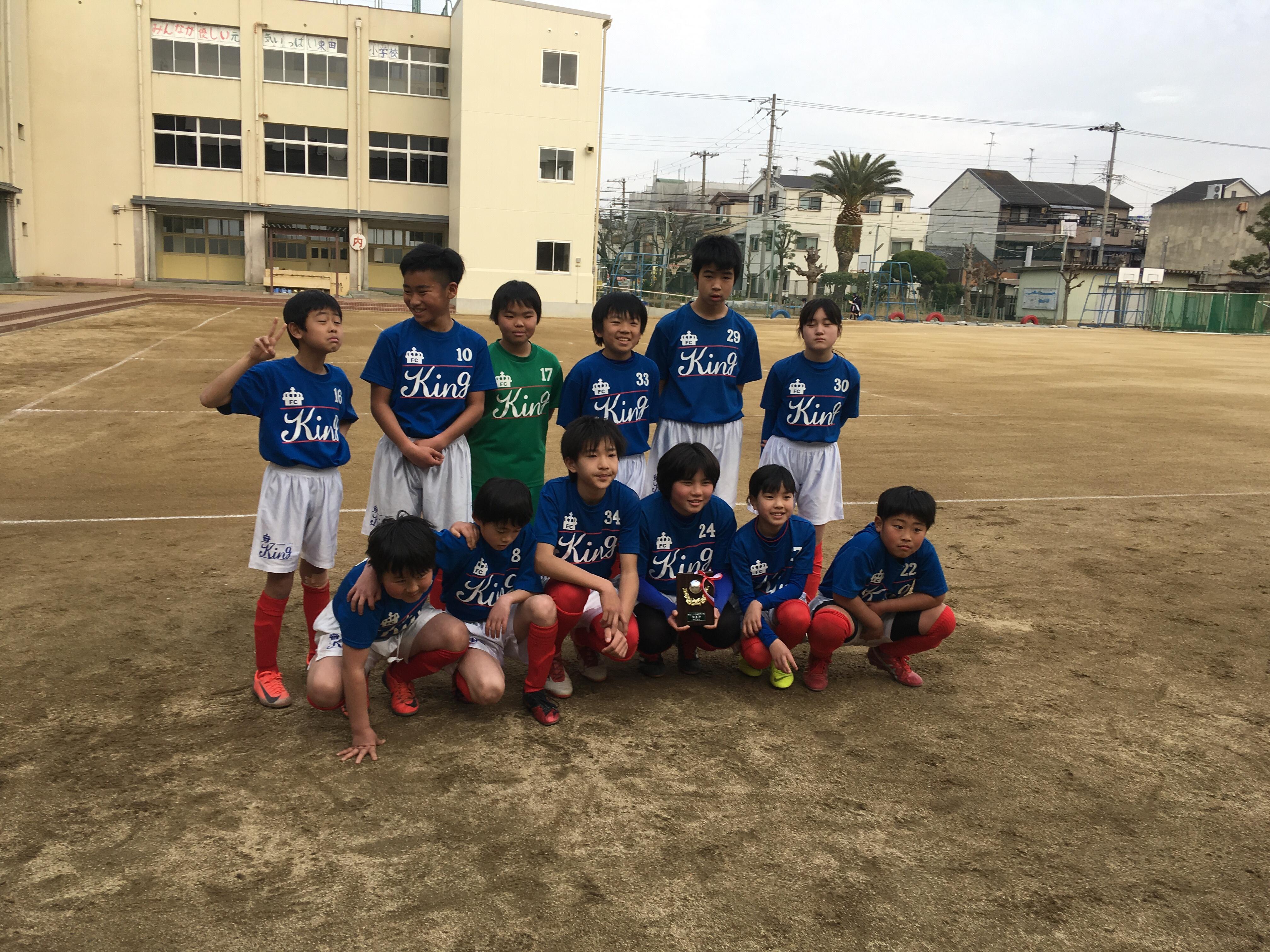 3月2日U12カップ戦