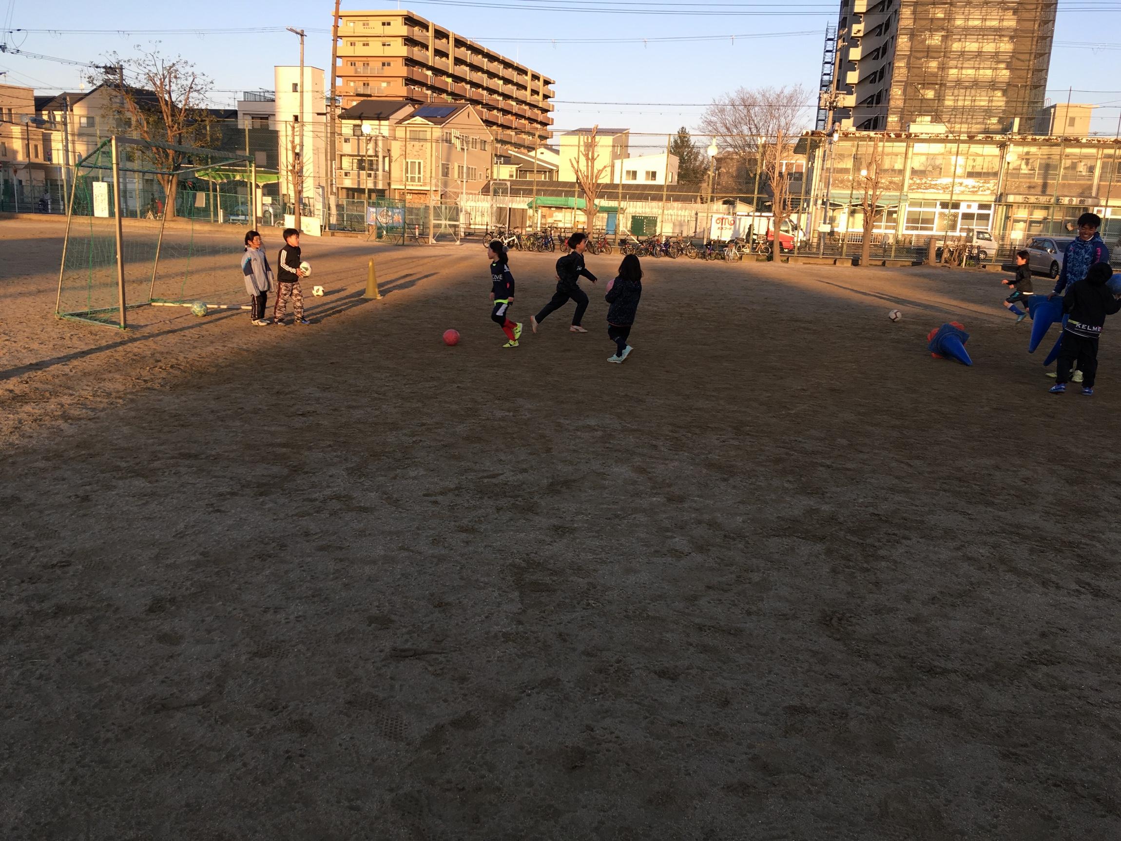 3月8日U12,U9トレーニング