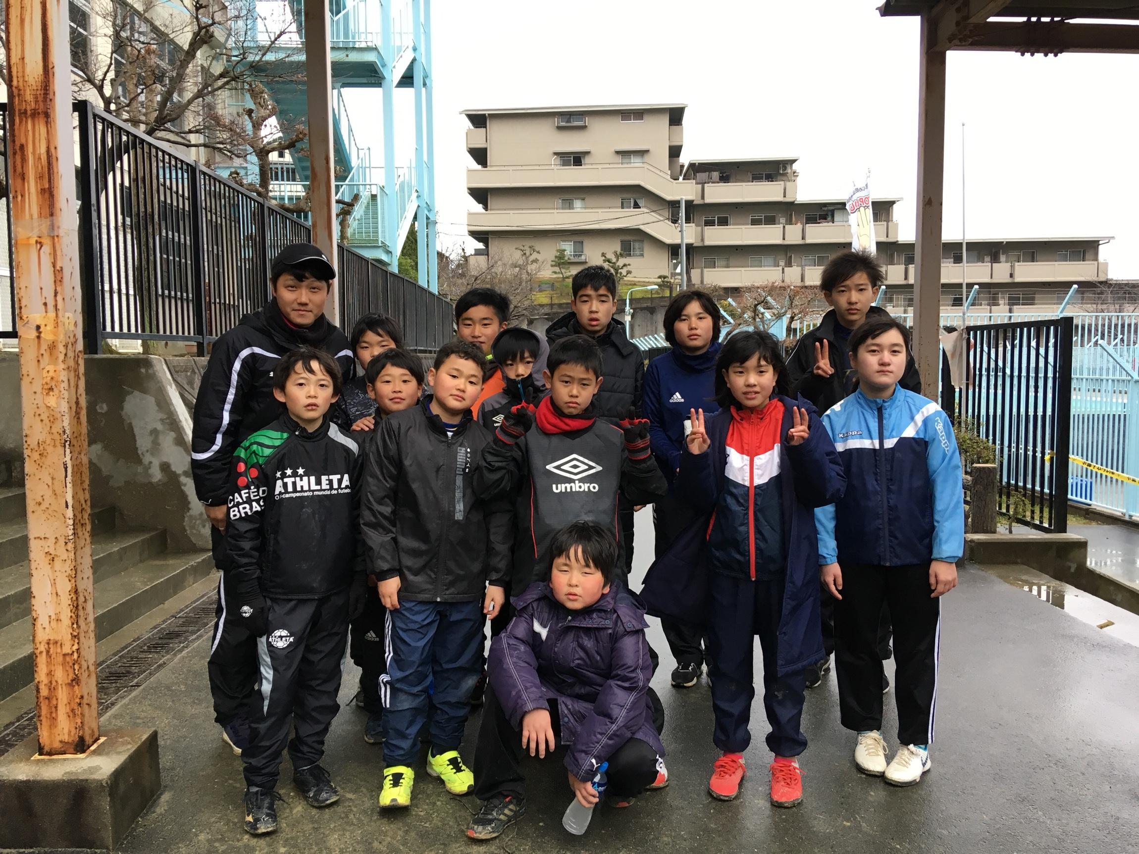 3月10日U12カップ戦